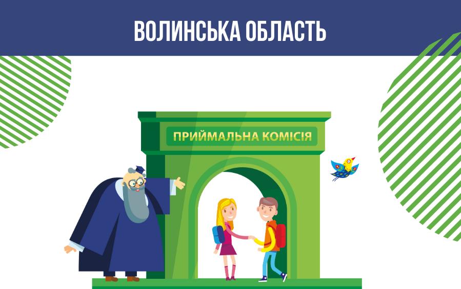 Оновлені контакти освітніх центрів при закладах освіти Волинськoї області