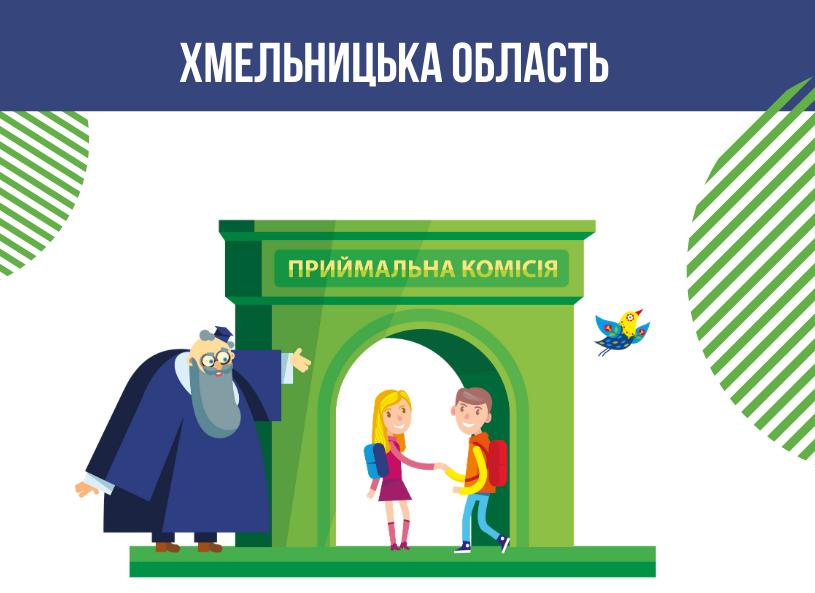 Оновлені контакти освітніх центрів при закладах освіти Хмельницької області